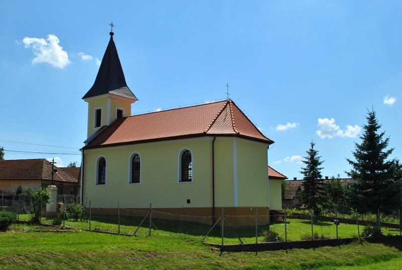 Galvács katolikus templom