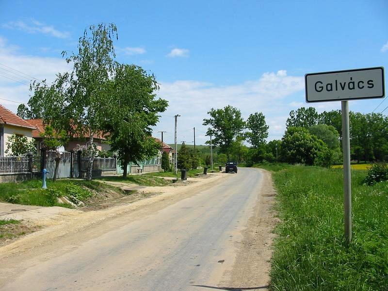 Galvács község