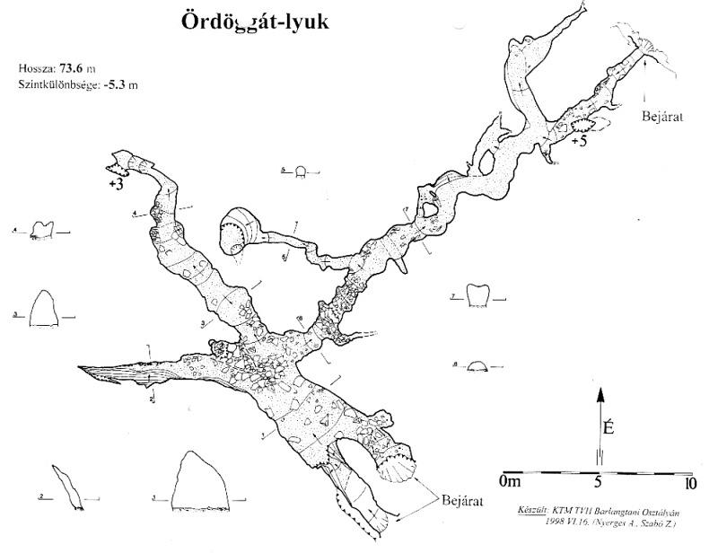 Ördöggát-lyuk térkép